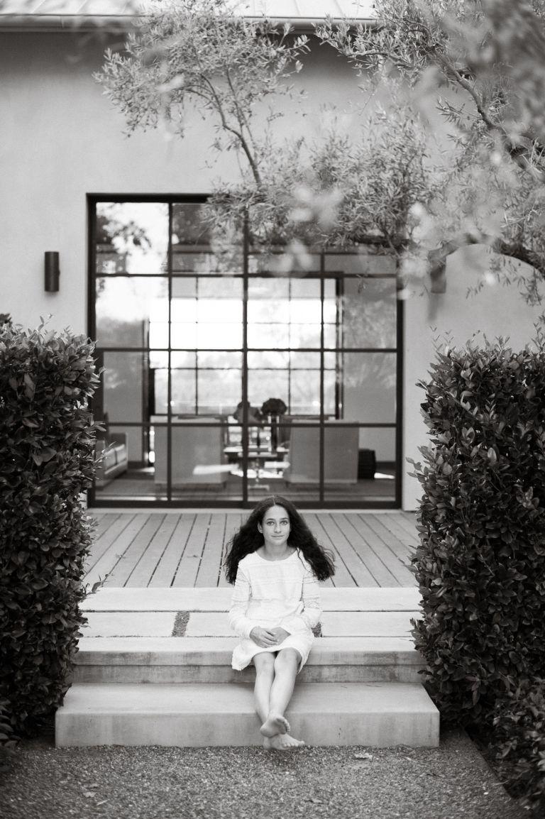 seattle black and white portrait